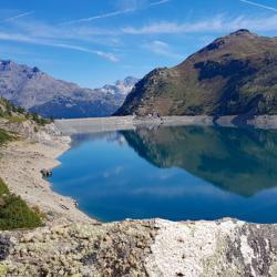 Le barrage et le lac de Bissorte