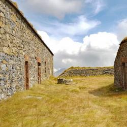 L'intérieur du fort Pépin.