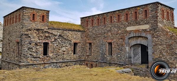 L'entrée du fort Pépin