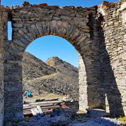 L'arche de l'entrée du fort
