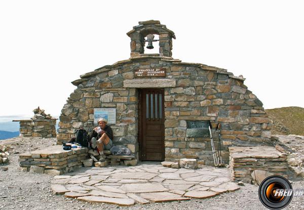 La chapelle près du sommet.