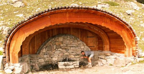 La source des Séyères.