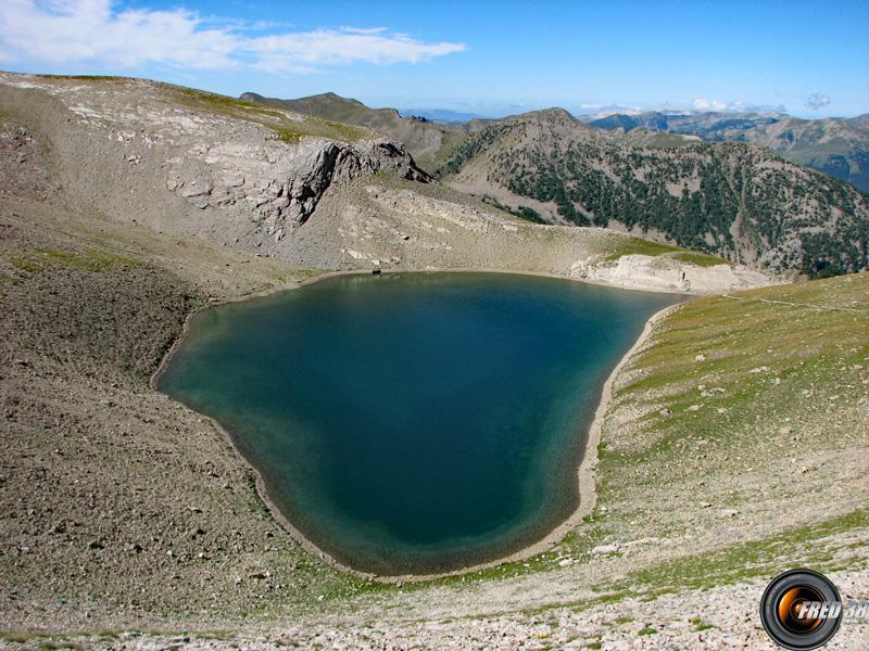 Lac de la Petite Cayolle.