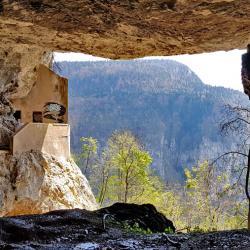 """La """"Grotte à carret""""."""