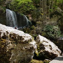Les cascades de la Doriaz.