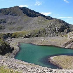 Lac Gros et sommet.