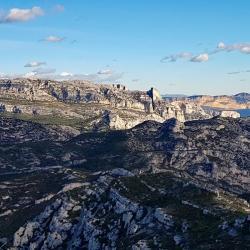 Mont Puget vu du plateau de l'Homme Mort.