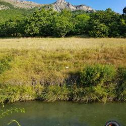 Montagne de Charance et canal de l'Arc.