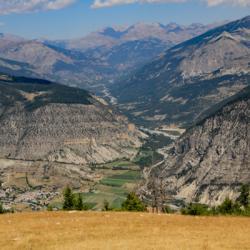 le village de Thoramme-Haute vu du sommet.