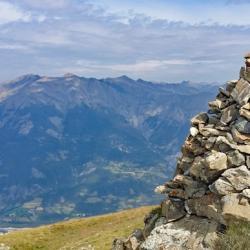 Sommet de la Croix de l'Alpe.