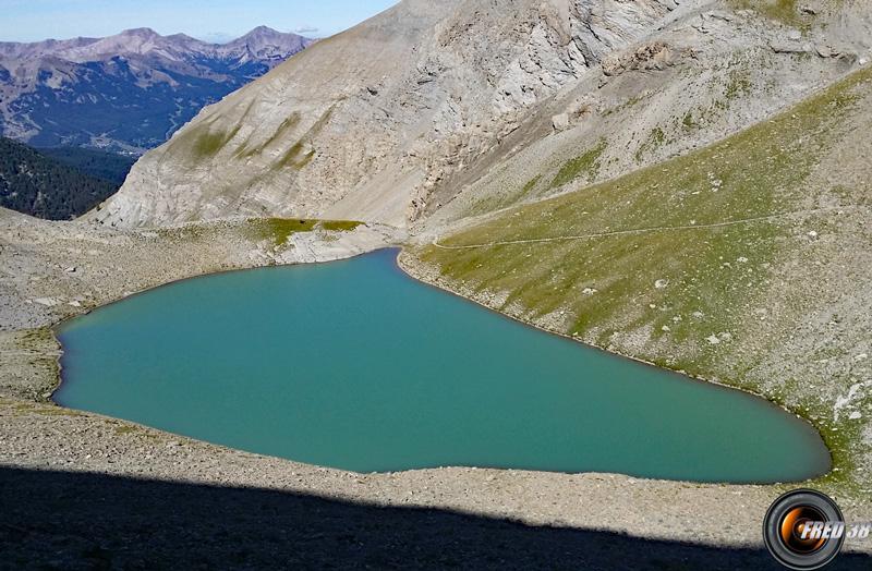 Lac de la Cayolle.