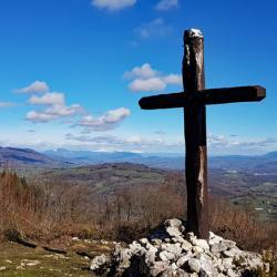 L'ancienne croix de Meyrieux.