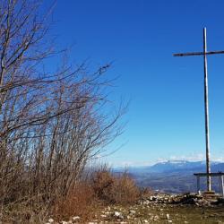 La nouvelle croix de Meyrieux.