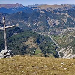 Au bout de la montagne de Mouréen.