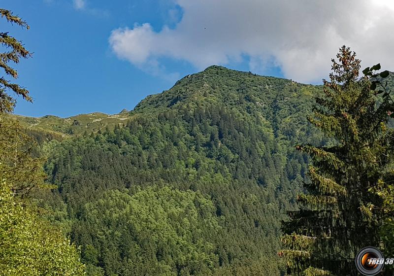Montagne de tignieux photo