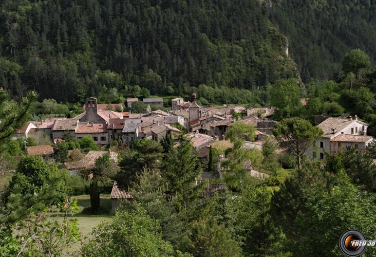 Chatillon en Diois.
