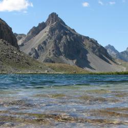 Lac de Roburent situé sur l'itinéraire.