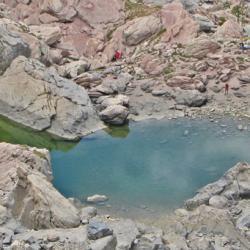Lac des Neuf couleurs.