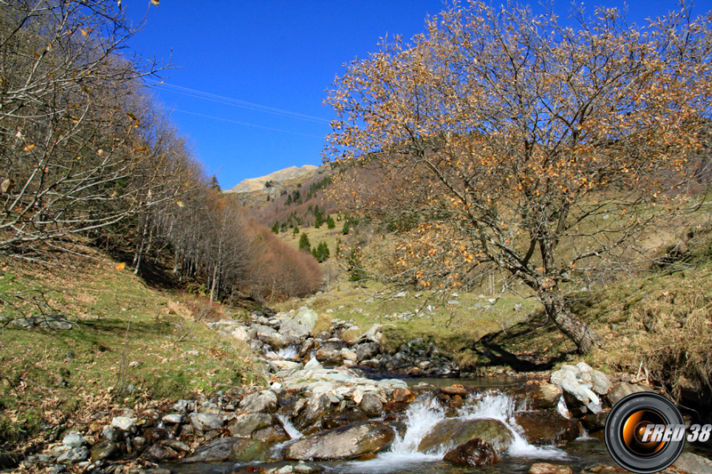 Ruisseau du lac Noir,