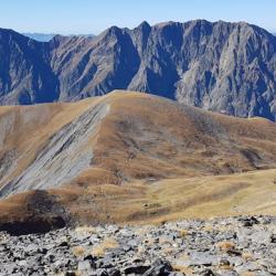 Le sommet des Clottous