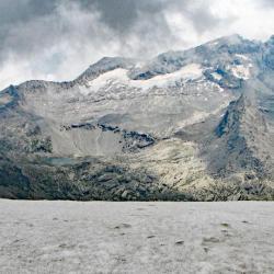 Au sommet en fond la Levanna.