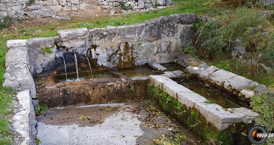 La fontaine de Gévaudan
