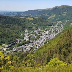 Vue sur Mont-Dore.