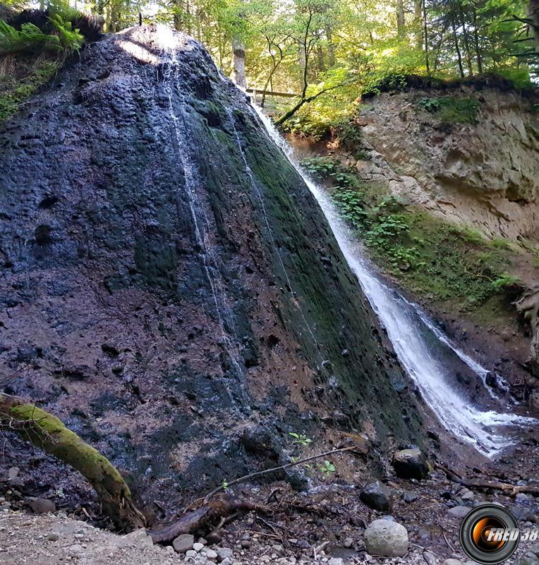 Prés de la cascade du Rossignolet.