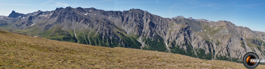 Les sommets du Queyras.