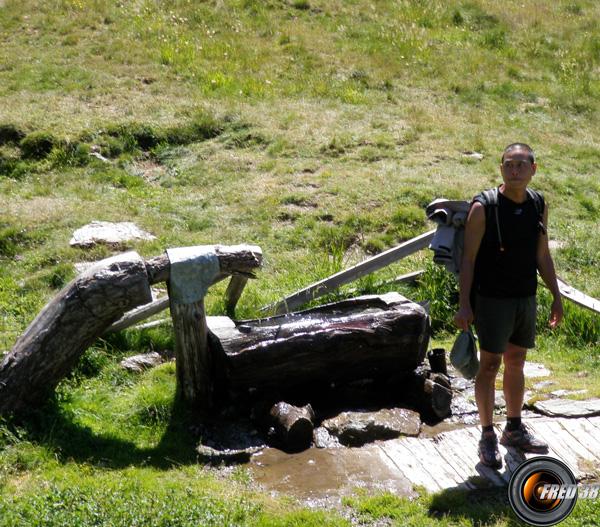 La source de la bergerie du Fond de Peynin.