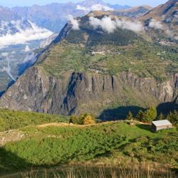 Vue sur la vallée de la Romanche.