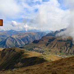 Vue sur les Deux Alpes.