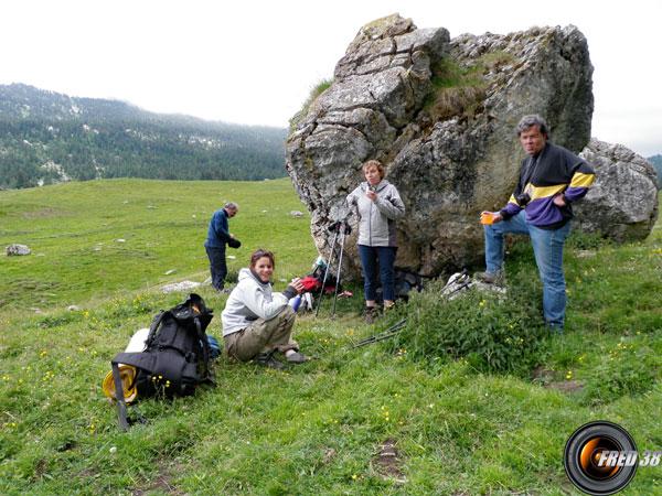 Plateau de l'Alpette.