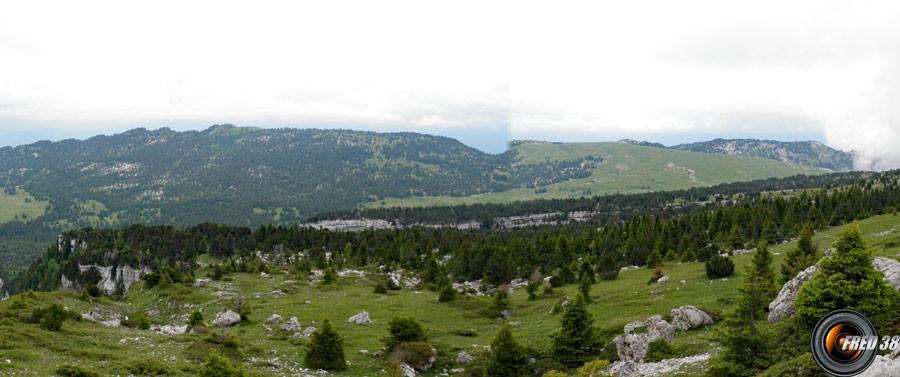 Le plateau de l'Alpe