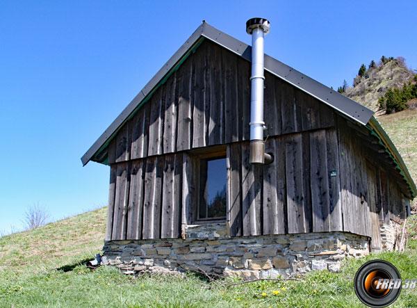 Cabane de l'Alpette.