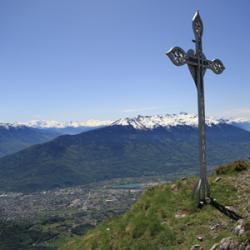 Une des deux croix.