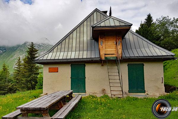 Maison forestière de Coutarse.