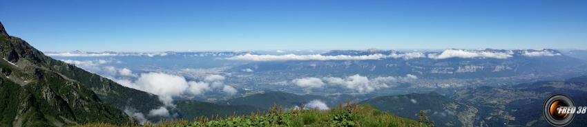 Panoramique du sommet.
