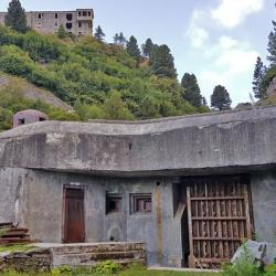 "Le blockhaus au ""Collet"""