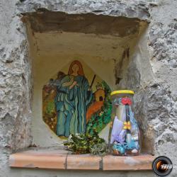 Le petit oratoire au dessus de Chasteuil