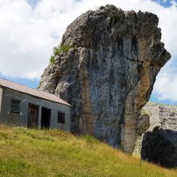 La cabane de pierre Baudinard.