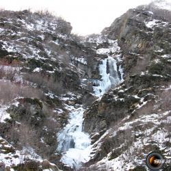Cascades de glace.