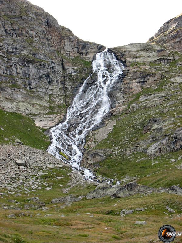 cascade du Montet.