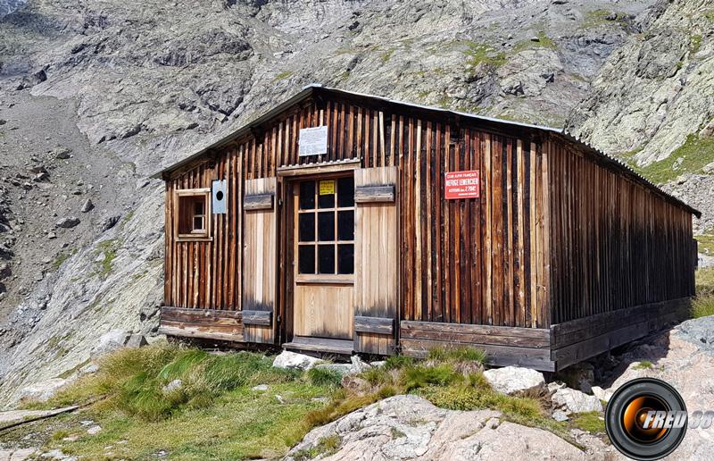 Le vieux refuge Lemercier.