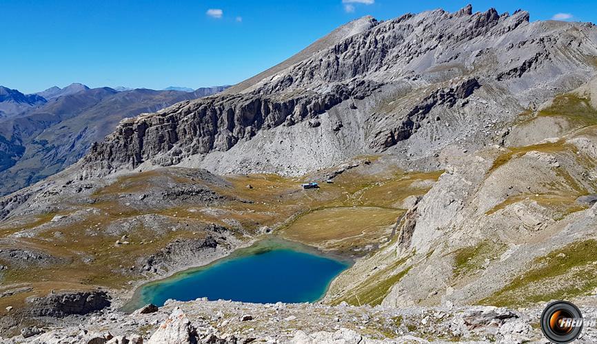 Lac Premier vu du Pas de Couleta.