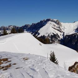 Le sommet du Roc d'Arguille.