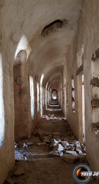 L'intérieur du Fort de Giaure.