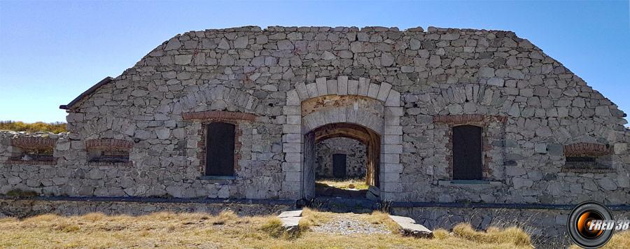 L'entrée du fort de Giaure.