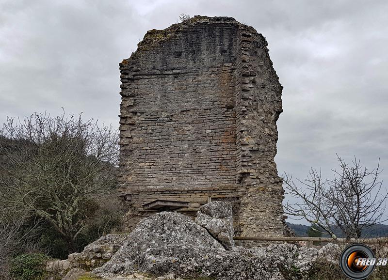 Ruines du donjon.