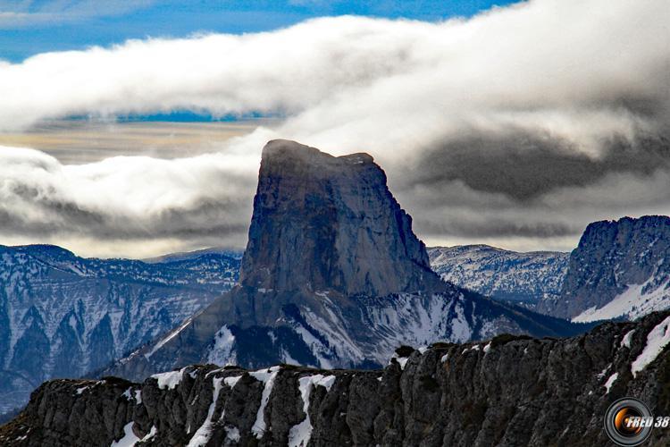 Le Mont Aiguille.